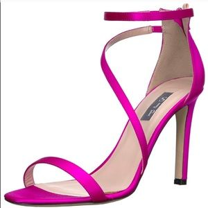 SJP Serpentine Heeled Sandal